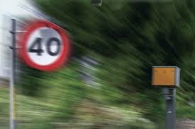 Speeding over 40mph